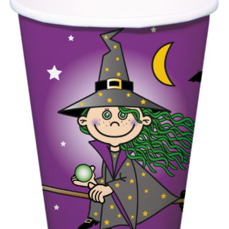 kelímky čarodějnice, pohárky čarodějnice, čarodějnice, párty kelímky čarodějnice, párty kelímky