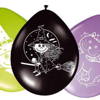 balónky čarodějnice, balónek čarodějnice, nafukovací balónky čarodějnice, nafukovaci balonek čarodějnice, latexový balonek