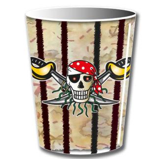 kelímky pirát, pohárky pirát, pirát, kelímky piráti, piráti