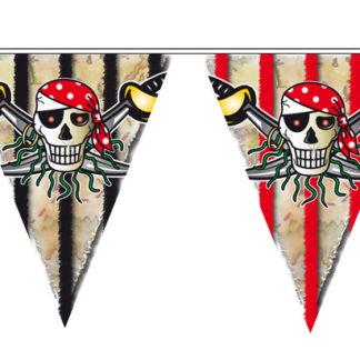 baner piráti, piráti, girlanda piráti, banery piráti, vlaječky piráti