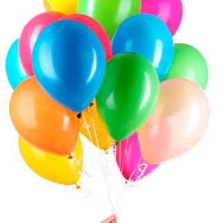 latexové balónky, balónky helium, balónky pro nafukování heliem, balónky
