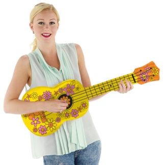 nafukovací ukulele, nafukovací kytara, ukulele, kytara, plastové ukulele