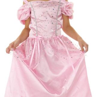 princezna růžová, princezna šaty, princezna šaty růžové, šaty princezna