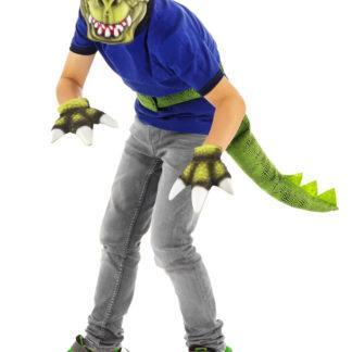 dinosaurus maska, dinosaurus kostým, dinosaurus, dino kostým,