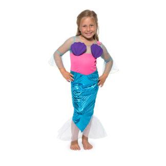 mořská panna, kostým mořská panna, malá mořská víla, kostým malá mořská víla, mořská pana