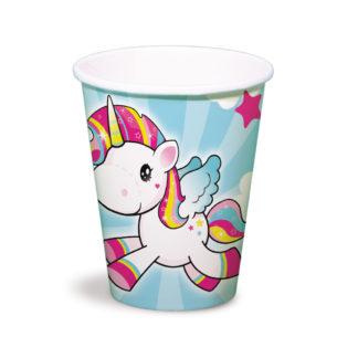 kelímky jednorožec, pohárky jednorožec, kelímky unicorn, unicorn