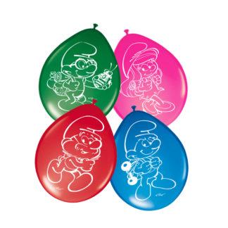 balónky šmoulové, balónek šmoulové, šmouli, šmoulové, balonky šmouli