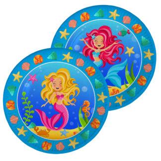 Talířky mořská panna, talířky malá mořská víla
