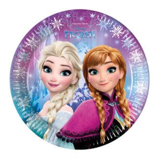 Talířky Frozen, párty talířky frozen
