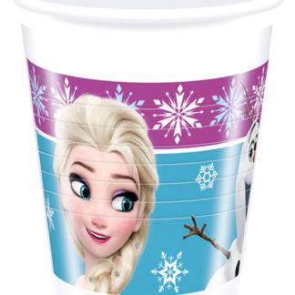 kelímky frozen, pohárky frozen, kelímky ledové království