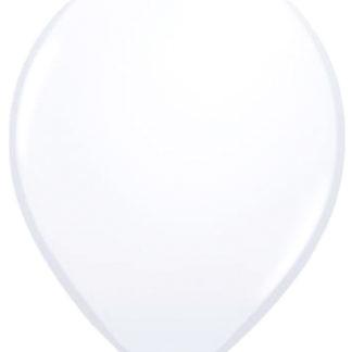 Balónek bílý, balónky bílé, nafukovací balónky bílé, nafukovací balónek bílý